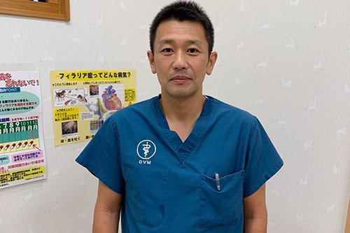 うちだペットクリニック獣医師 内田貴之先生